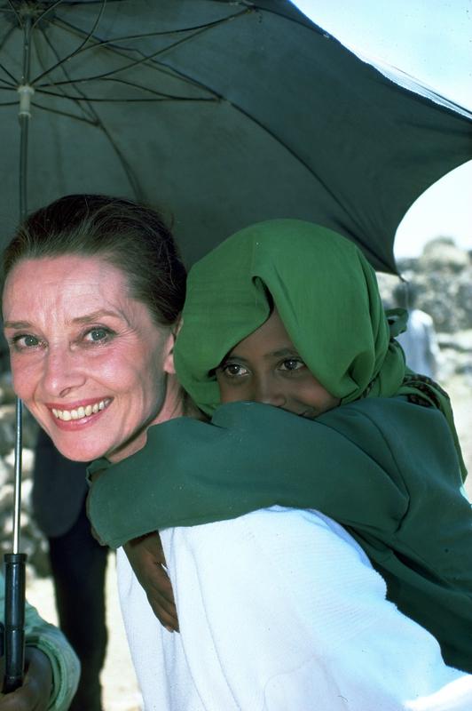Audrey Hepburn UNICEF Afrique