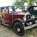 Mathis type pyc coupé faux cabriolet 1931