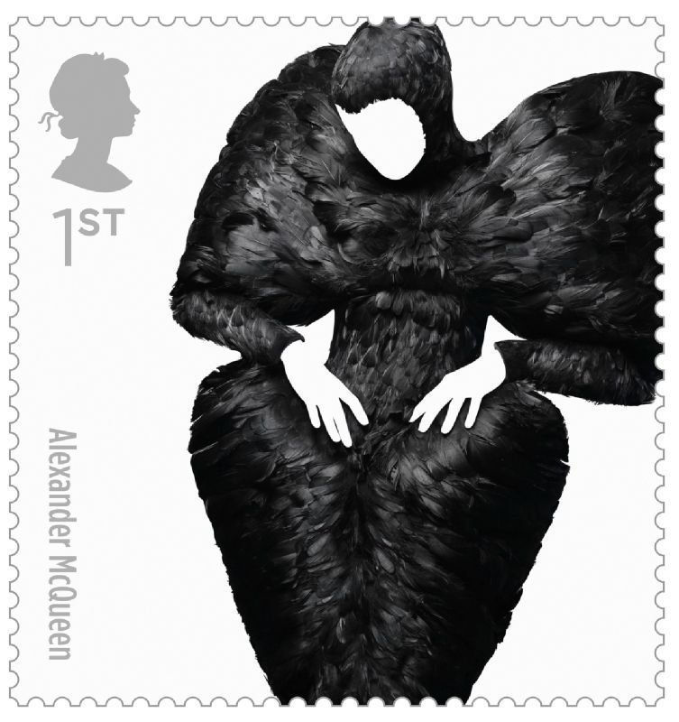 Fashion Stamps Alexander McQueen