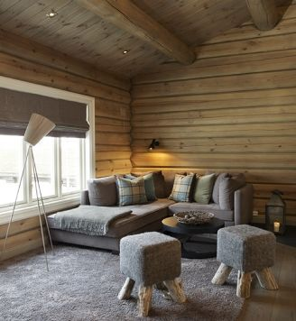 un chalet norv gien sonia saelens d co. Black Bedroom Furniture Sets. Home Design Ideas