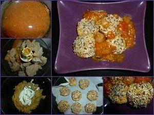 poucinette boulette lentille corail
