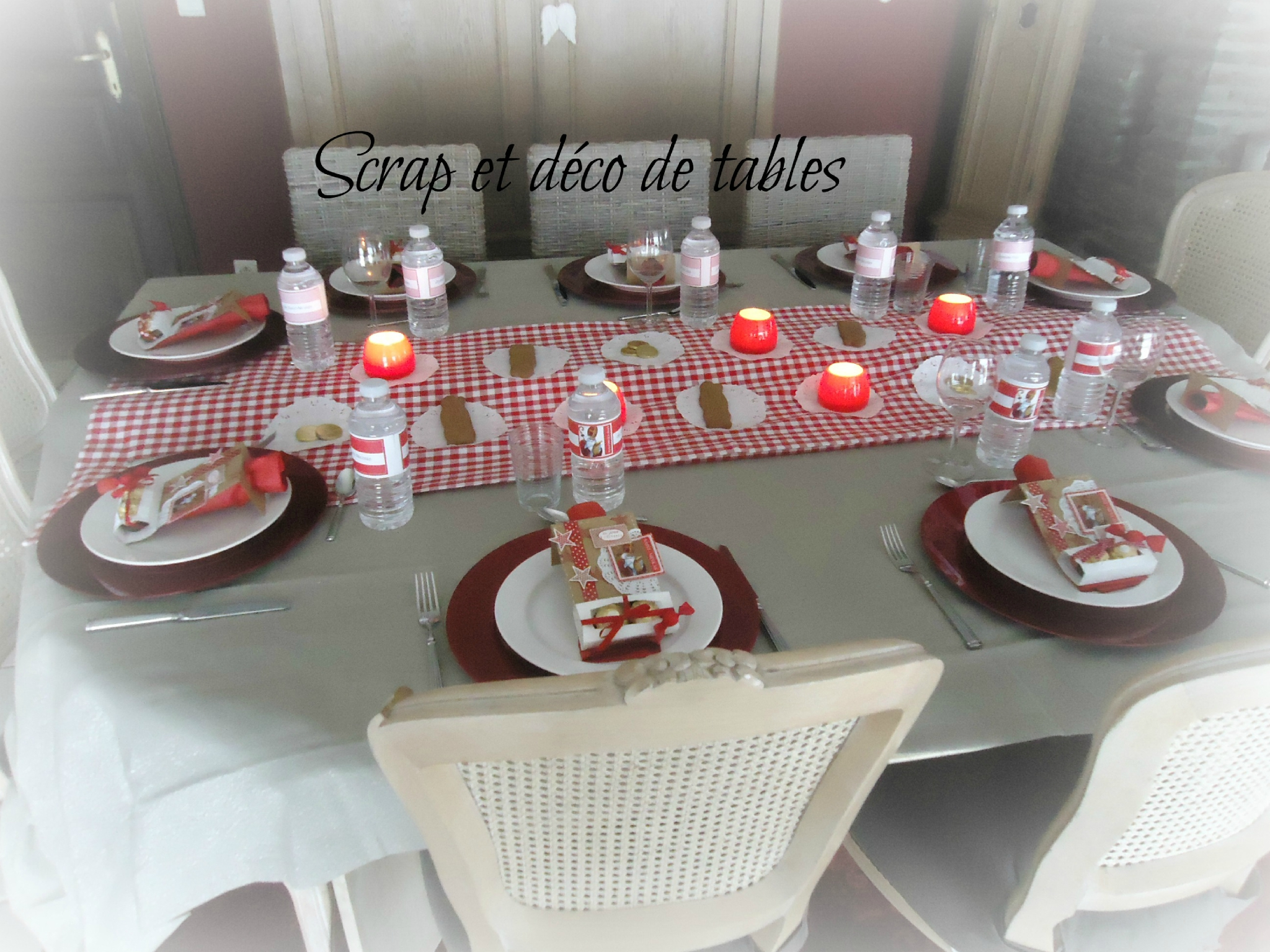 Deco de tables pour la saint nicolas scrap et d co de tables for Decoration de table