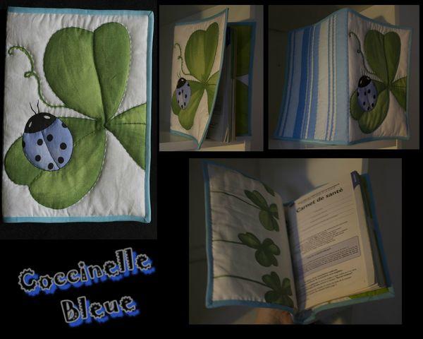 coccinelle bleue