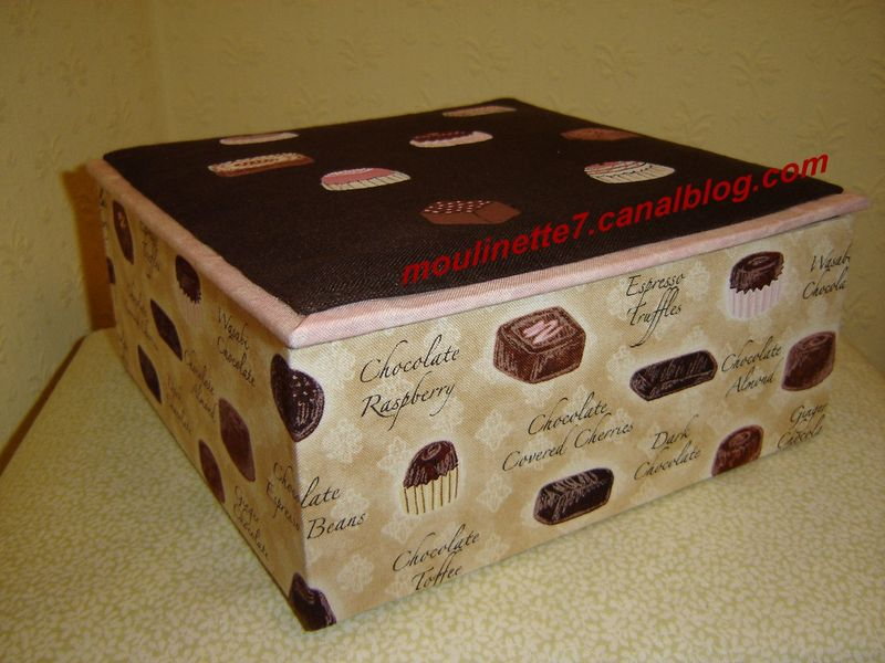Boîte à chocolats prix: 38€