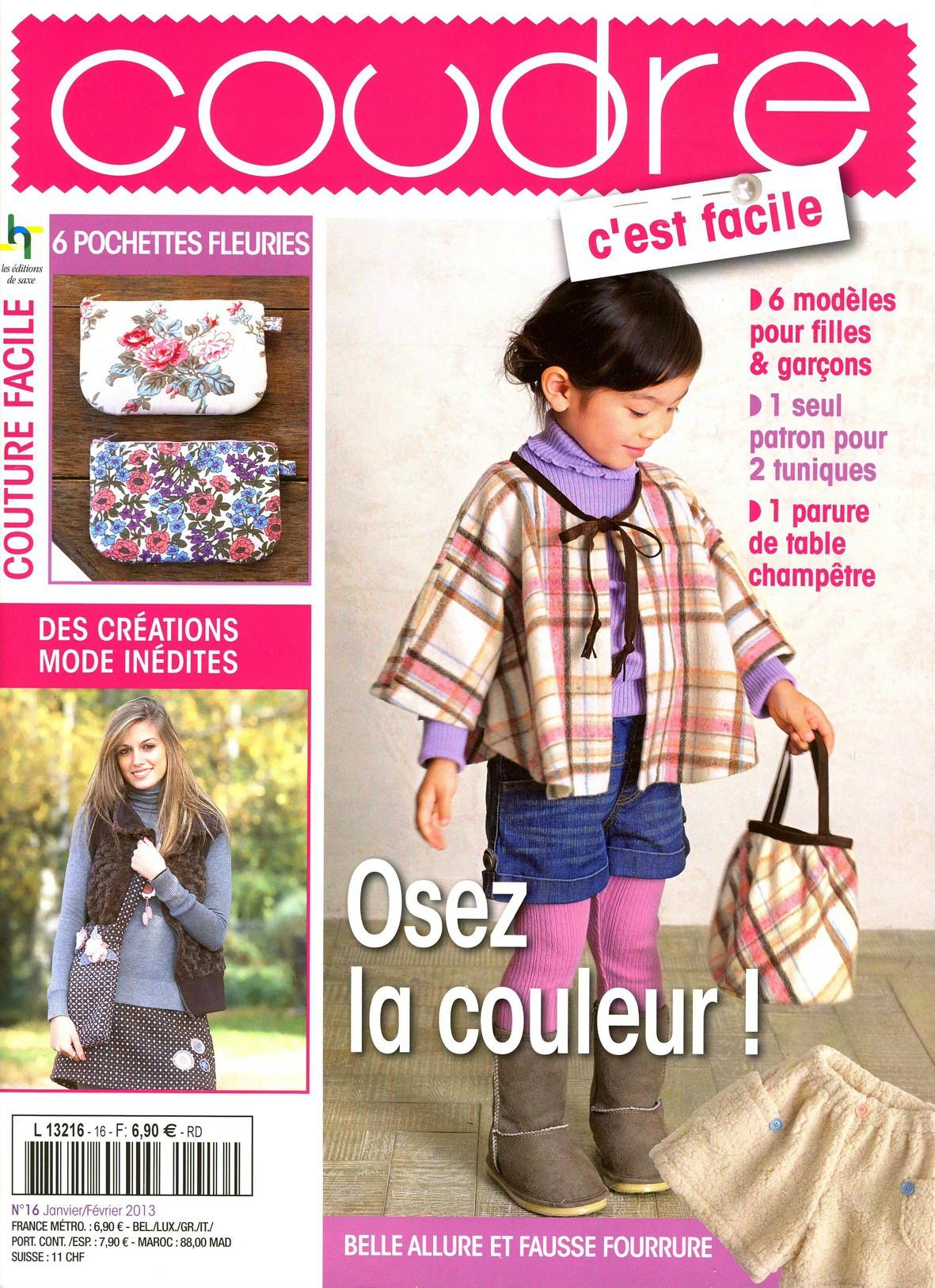 C 39 Est Mon Tour Sur Le Magazine Coudre C 39 Est Facile Mireya Cr Ation Couture