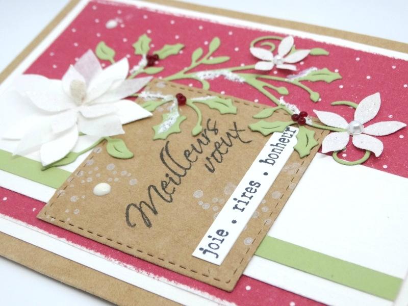 Cartes de Voeux Poinsettia 4