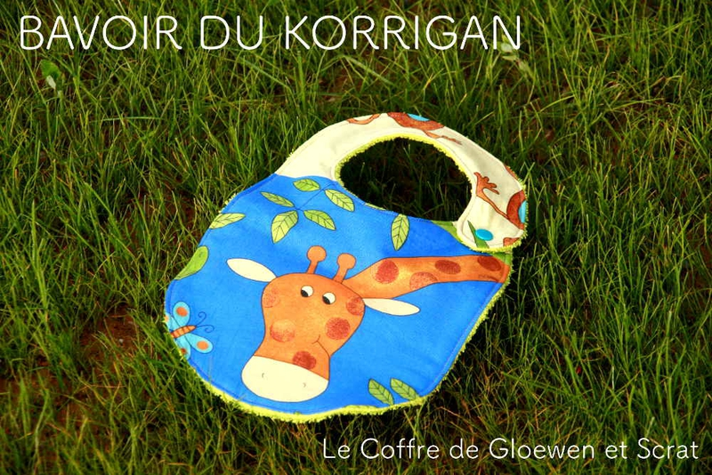 bavoir du korrigan Jungle