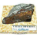 CHALCOPYRITE S205 - Espagne
