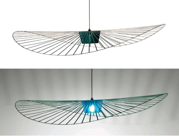 Suspension vertigo design constance guisset pour petite for Luminaire suspension design