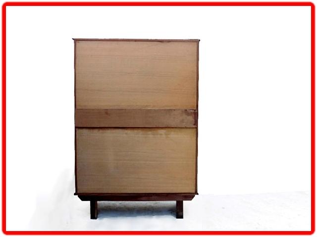 Buffet vintage bois clair 1950 (18)