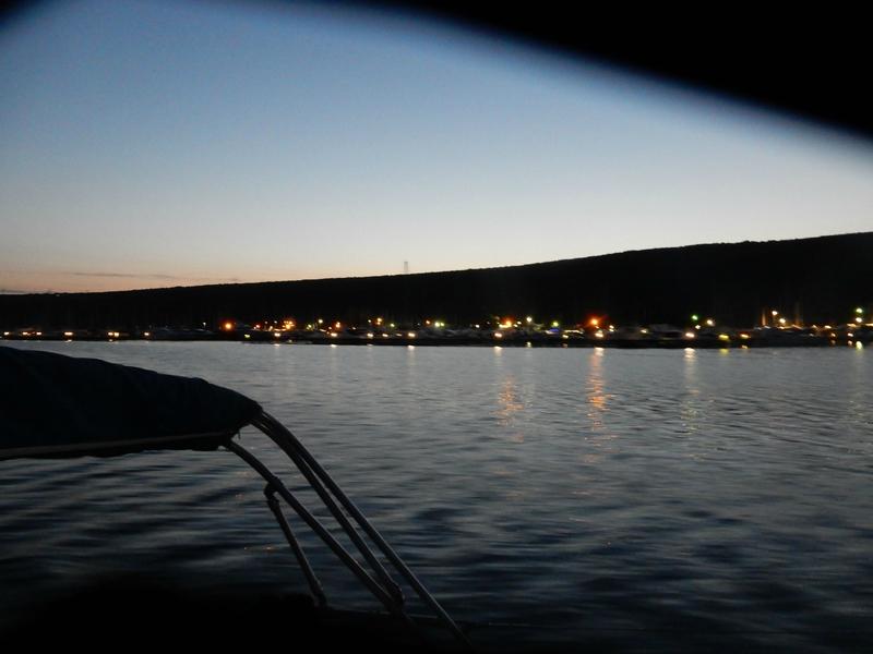 La baie de Punat au petit jour 130416