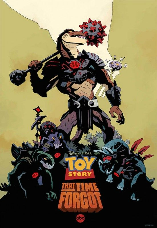 Toy Story Metrage (affiche Mike Mignolia)