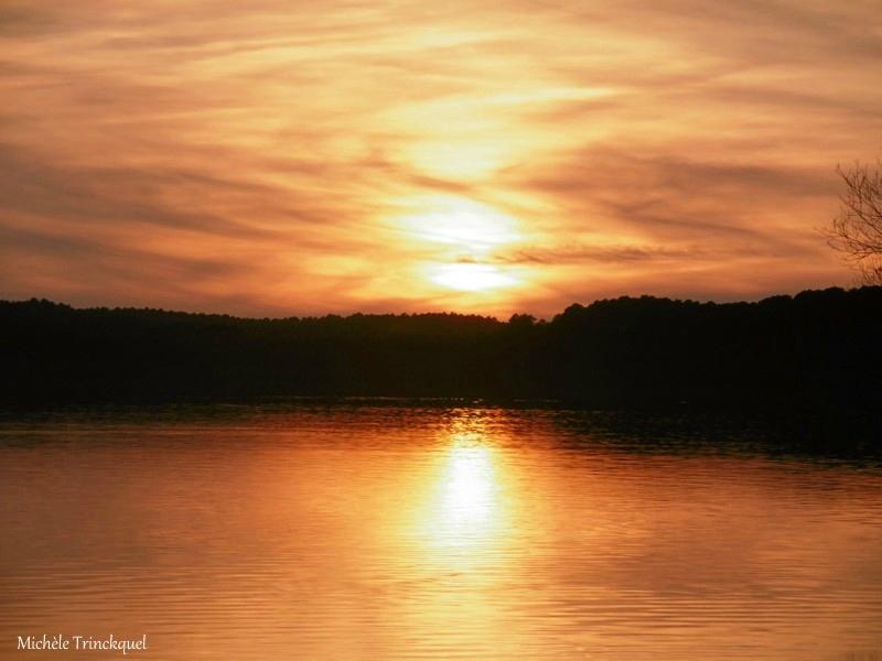 1-Lac de Mimizan et Coucher de soleil Plage de Vielle 150217