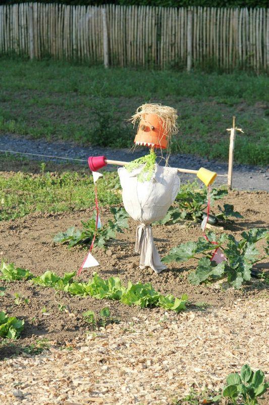 Occuper nos minis pendant les vacances 3 t te d 39 ange - Fabriquer un epouvantail a oiseaux ...