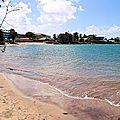 La couleur de l'eau de la mer en guyane : gros sujet de conversation du moment !