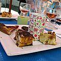 Café gourmand, juillet 2012 entre collègues. Carré Plantagenêt, Le Mans.