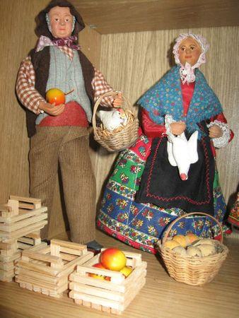 le couple de paysans