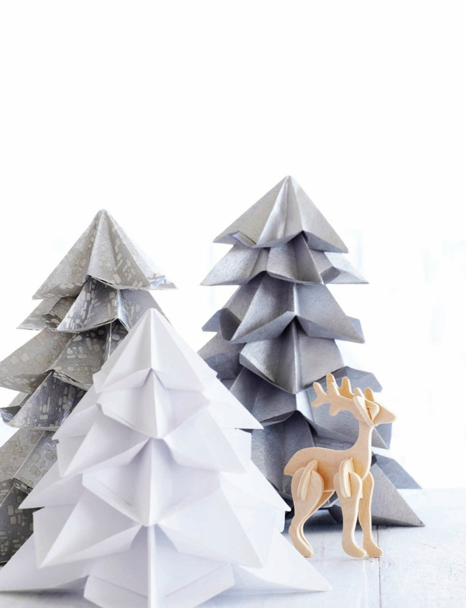 tutoriel origami sapin de noel. Black Bedroom Furniture Sets. Home Design Ideas