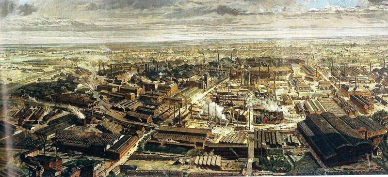 Photo paysage industriel Ruhr