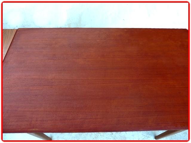 table + chaises scandinave années 1960 teck