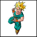 Fan'arts - dragon ball z - trunks