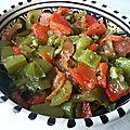 Salade de poivrons