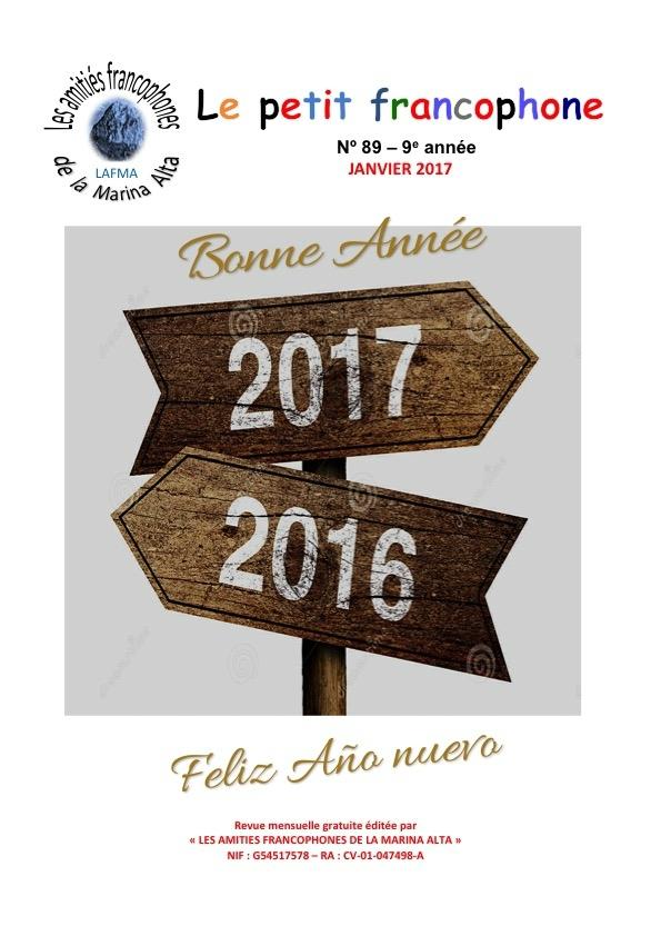 Le petit Francophone janvier 2017