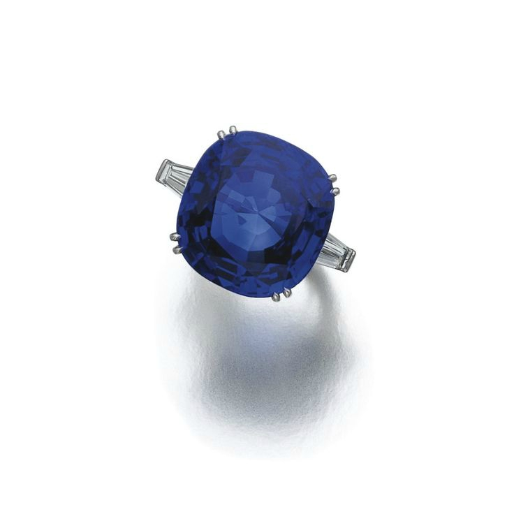 Important sapphire and diamond ring, Bulgari