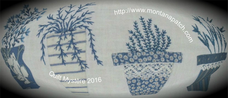 quilt mystere Maria Blum montanapatch