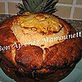 Gâteau à la ricotta et à l 'ananas -