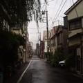 Tokyo route devant hotel