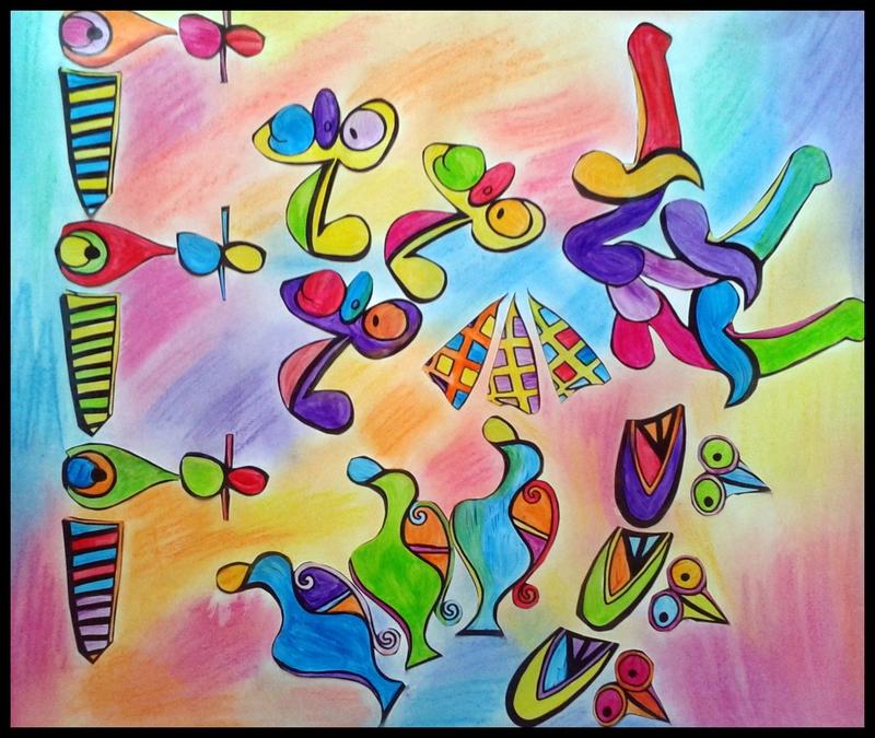 126_Compositions abstraites_Picasso cassé (8C)