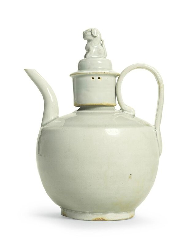 A 'Qingbai' ewer and cover, Northern Song dynasty