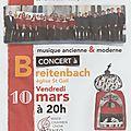 Concert à breitenbach
