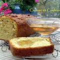 Cake au levain avec muesli complet et fruits secs