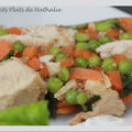 Terrine frache et printanire (minc de poulet et petits lgumes)