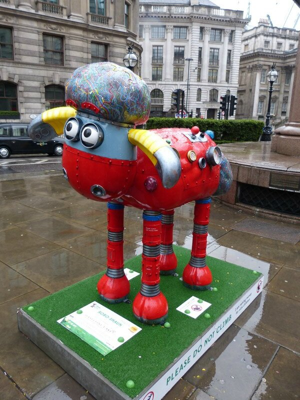 shaun the sheep red