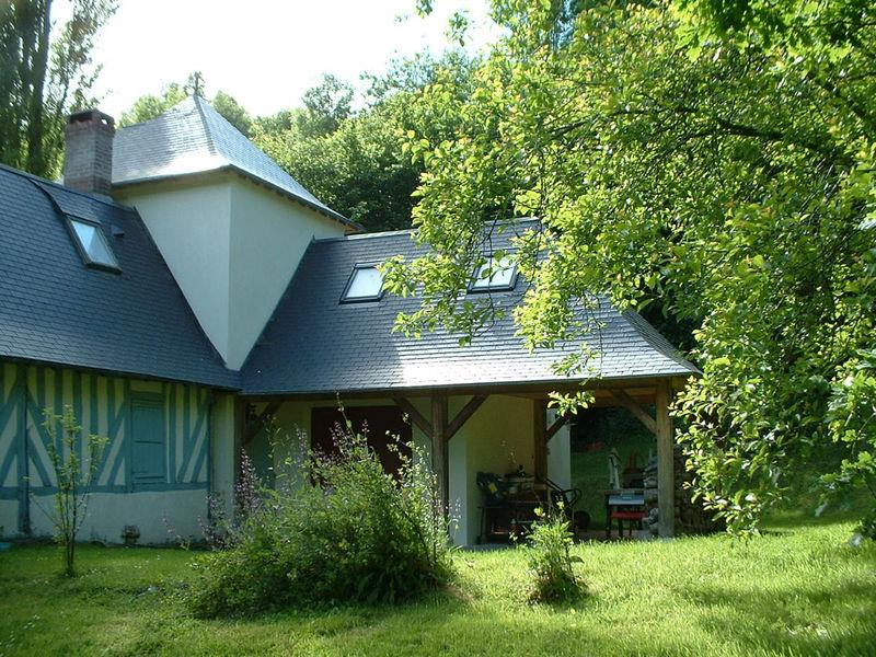 Extension d 39 une maison normande a genneville olivier four s architecte honfleur t 06 60 41 - Extension maison normande ...