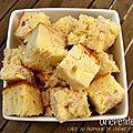 Cake au fromage de chèvre et au bacon
