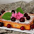 Quatre-quart aux cerises & miel : l'ultra-gourmand ♥