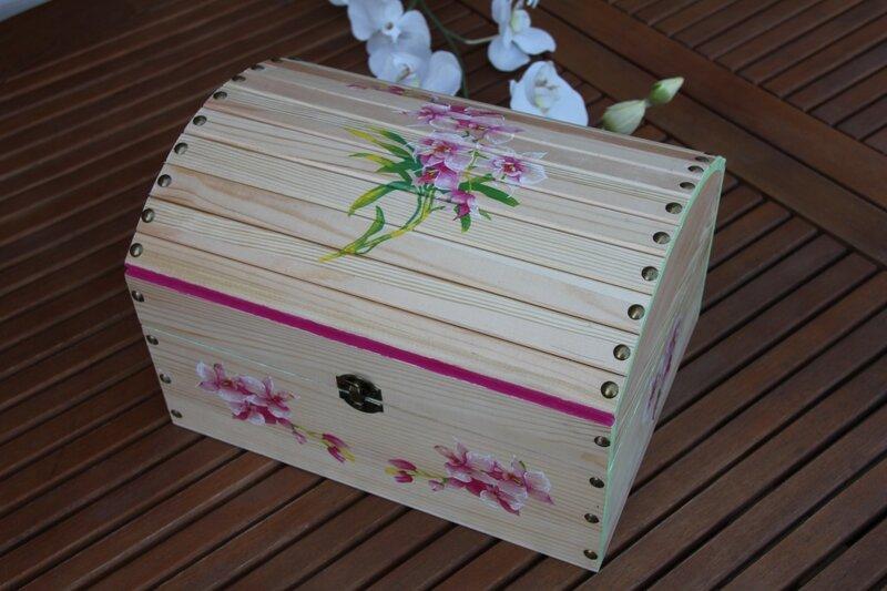 Peindre un coffre en bois - Coffre en bois a peindre ...
