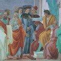Néron avec Pierre et le mage Simon