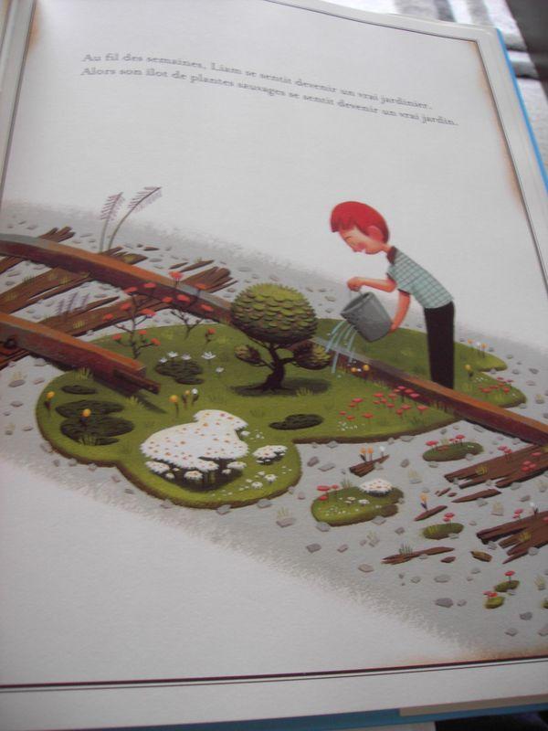Le jardin voyageur peter brown l 39 accro des livres for Le jardin voyageur peter brown