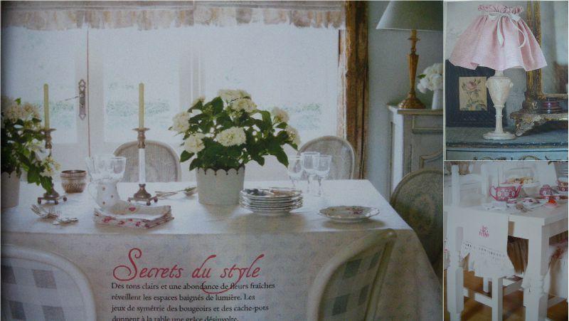 Maison Romantique : Maison romantique à l honneur neige rose
