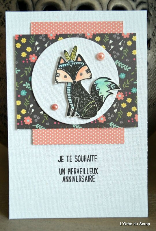 blogorel petit renard carte scrap