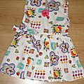 robe coton 2 ans