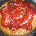 Tarte Tatin de tomates au vinaigre balsamique...