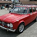 Alfa romeo giulia super promiscua (break) 1972-1977