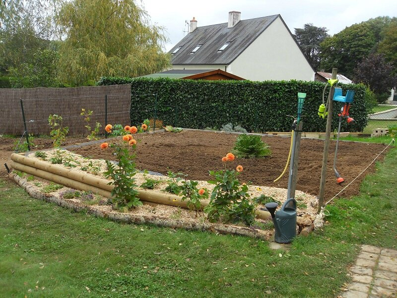 Premier potager comment faire 1 re partie le jardin for Amenagement jardin 100m2