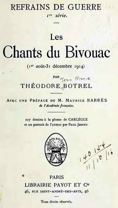 Chants du bivouac